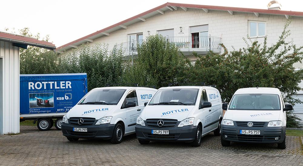 Unsere Einsatzfahrzeuge - damit wir direkt vor Ort sind